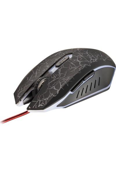MF Product Strike 0109 Kablolu Rgb Gaming Mouse + Mouse Pad Kırmızı