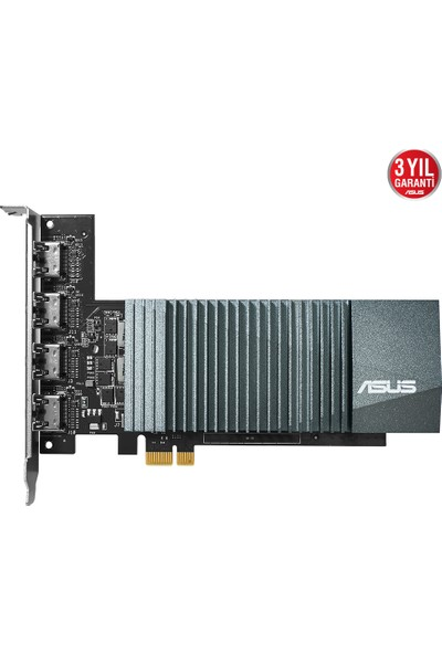 Asus GeForce 2GB 64Bit GDDR5 DX(12) PCI-E 2.0 Ekran Kartı (GT710-4H-SL-2GD5)