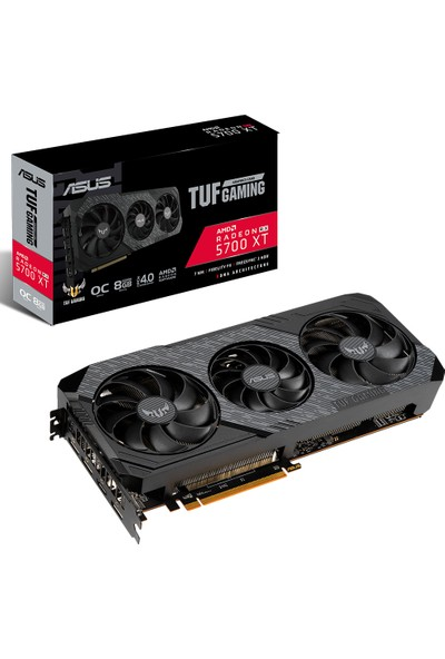 Asus Radeon RX 5700XT 8GB 256Bit GDDR6 DX(12) PCI-Express 4.0 Ekran Kartı (TUF 3-RX5700XT-O8G-EVO-GAMING)