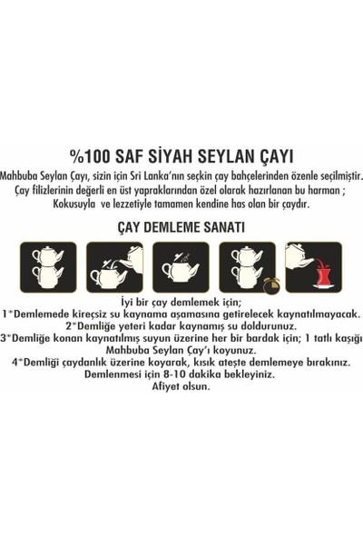 Mahbuba Saf Ceylon Siyah Dökme Çay 800 gr
