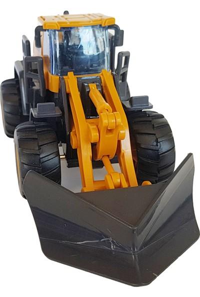 Power Oyuncak Dozer Iş Makinesi Kepçe Sür Bırak