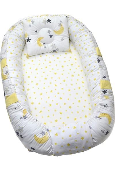 Berababy Babynest Sarı Ay Model Bebek Yuvası