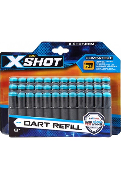 X-Shot Excel 30'lu Dart Refill Yedek