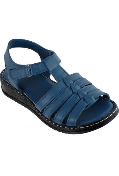 Pandora Moda YN14 Derı Ortopedi Kadın Sandalet