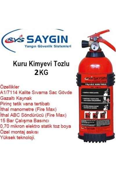 Saygın Yangın 2 kg Kkt(Kuru Kim.toz)Ysc %40'lık Map