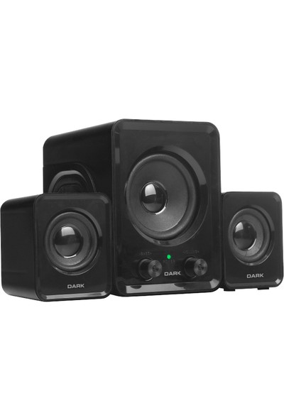Dark SP210 2+1 Multimedia USB Speaker Hoparlör (DK-AC-SP210)