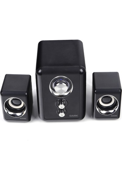 Dark SP211 2+1 Multimedia USB Speaker Hoparlör (DK-AC-SP211)