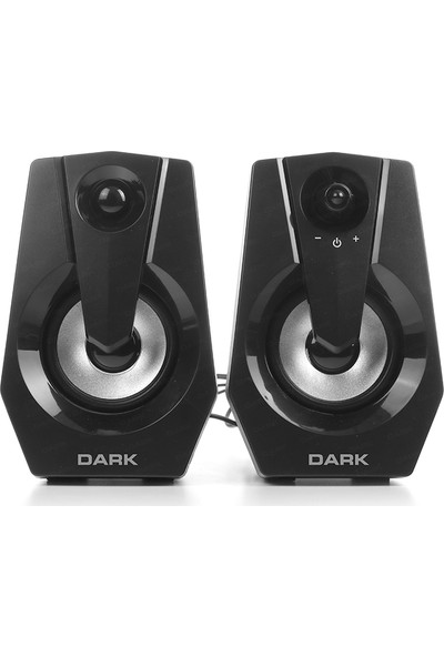 Dark SP110 1+1 Multimedia USB Speaker Hoparlör (DK-AC-SP110)