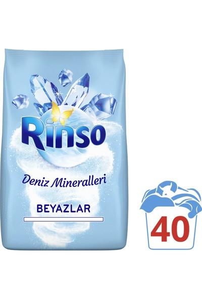 Rinso Deniz Mineralleri Beyazlar için Toz Çamaşır Deterjanı 6 kg 40 Yıkama