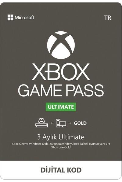 Xbox Game Pass Ultimate 3 Aylık