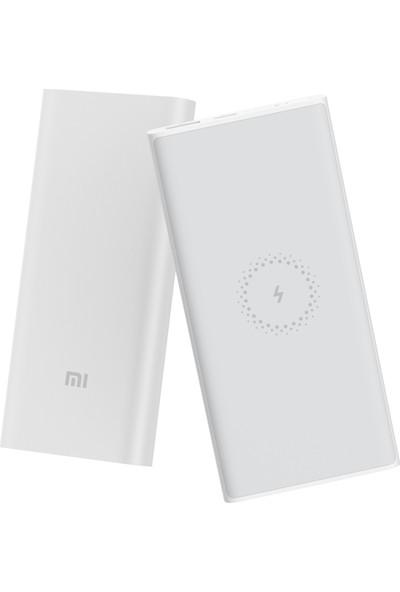 Xiaomi 10000 mAh PD 10W Kablosuz Taşınabilir Hızlı Şarj Cihazı - Qi Power Delivery Powerbank - Beyaz