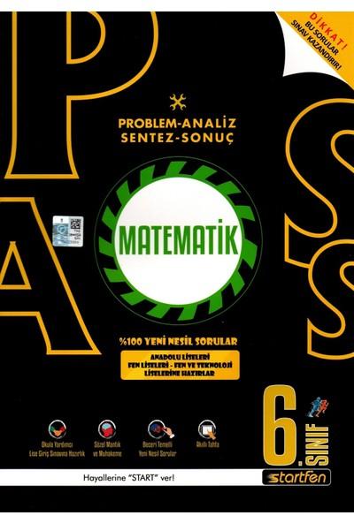 Startfen Yayınlarıpass 6. Sınıf Matematik Yeni Nesil Soru Bankası
