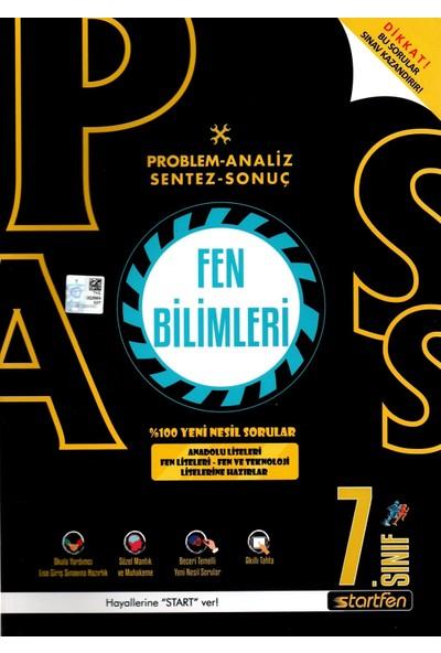 Startfen Yayınları Pass 7. Sınıf Fen Bilimleri Yeni Nesil Soru Bankası