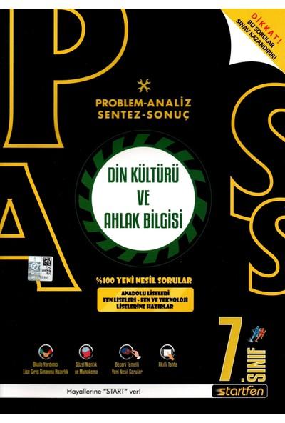 Startfen Yayınları Pass 7. Sınıf Din Kültürü Yeni Nesil Soru Bankası