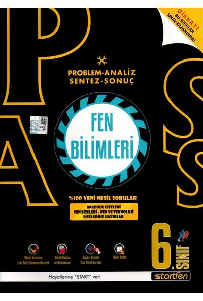 Startfen Yayınları Pass 6. Sınıf Fen Bilimleri Yeni Nesil Soru Bankası