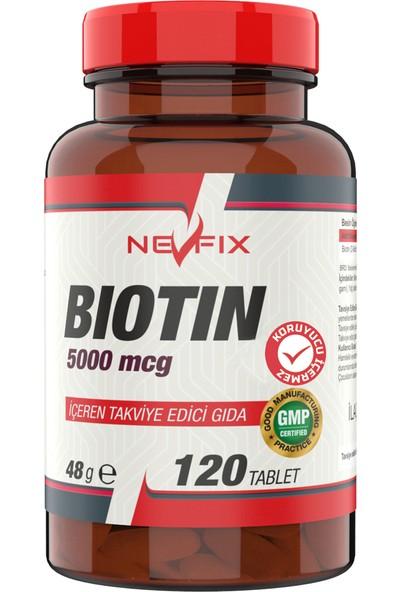 Nevfix Biotin 5000 Mcg Collagen 1000 mg Glucosamine 1500 mg