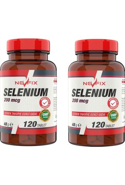 Nevfix Selenyum 200 Mcg 120 Tablet x 2 Kutu 240 Tablet