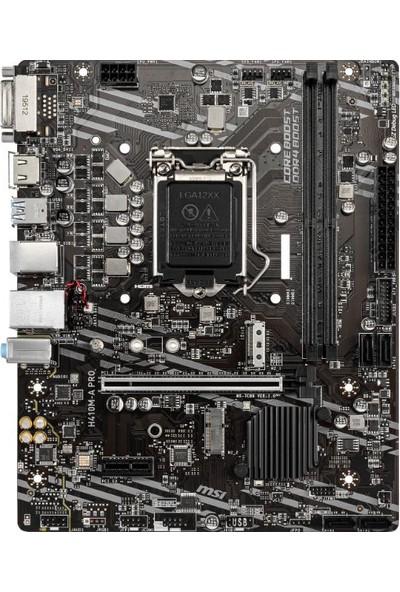 MSI H410M-A Pro Intel H410 2933MHz DDR4 mATX Anakart