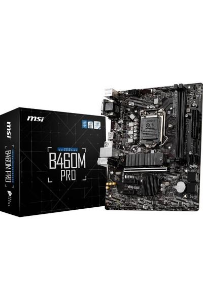 MSI B460M Pro Intel B460 2933MHz DDR4 mATX Anakart