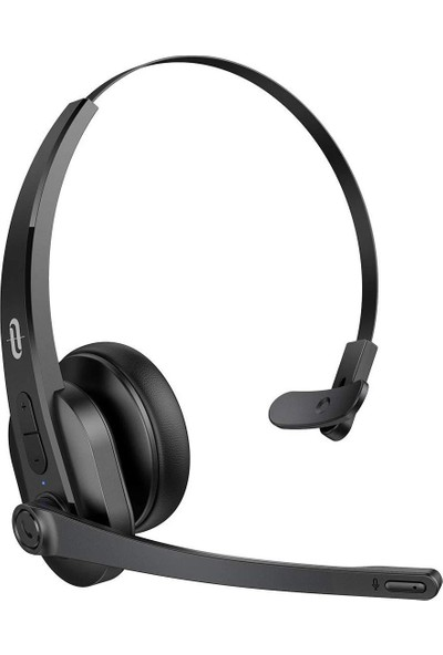 TaoTronics TT-BH041 Gürültü Engelleyici Mikrofonlu Bluetooth Kulaklık 34 Saat Pil Ömrü Telefon Skype PC Çağrı Merkezi Uyumlu