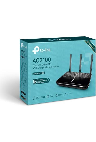 TP-Link Archer VR2100 AC2100 Wireless MU-MIMO VDSL/ADSL Modem Router