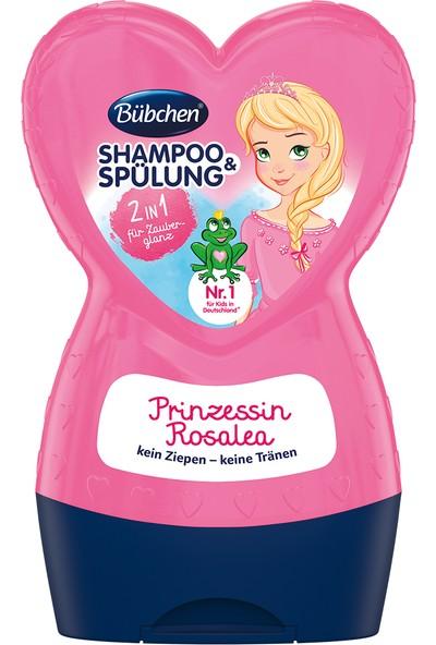 Bübchen Şampuan + Bakım Balsamı Prenses Rosalea (2 si 1 arada)