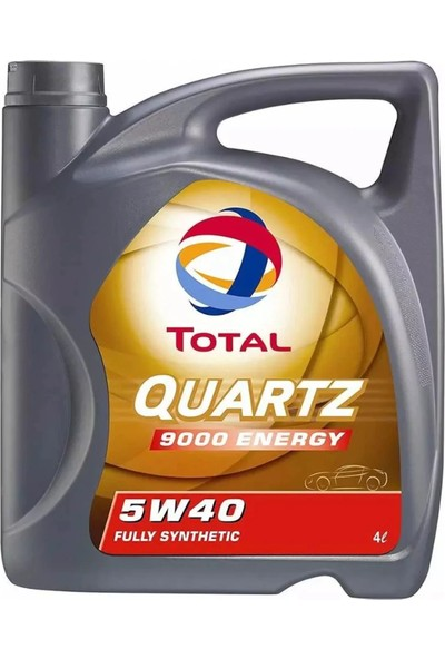 Total Quartz 9000 5w40 4 Litre Motor Yağ Benzin Dizel (Üretim Yılı 2020)