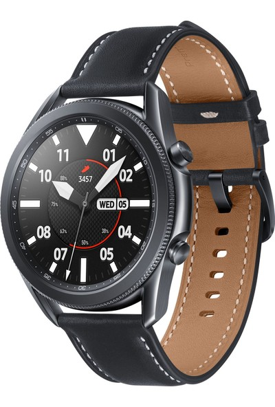 Samsung Galaxy Watch 3 (45mm) - Mystic Black - SM-R840NZKATUR (Samsung Türkiye Garantili)