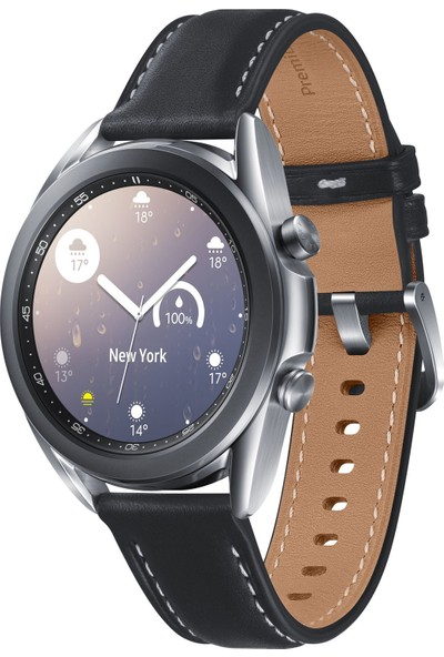 Samsung Galaxy Watch 3 (41mm) - Mystic Silver - SM-R850NZSATUR (Samsung Türkiye Garantili)