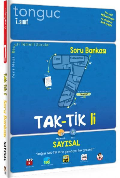 Tonguç Akademi 7. Sınıf Tak-Tikli Sayısal Soru Bankası