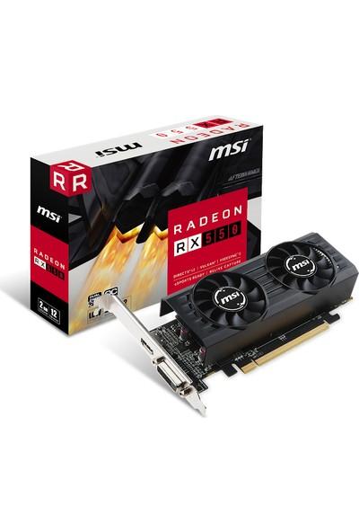 MSI 2GT LP Radeon RX 550 OC 2GB GDDR5 128Bit (DX12) PCI-E 3.0 X16 Ekran Kartı (Radeon RX 550 2GT LP OC)