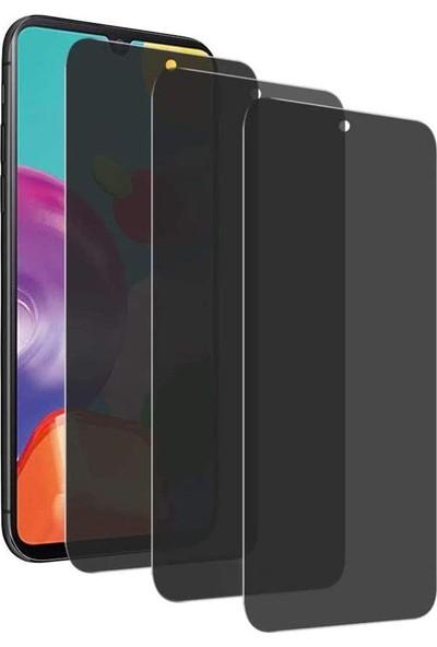 Case 4U Xiaomi Redmi Note 9S / Note 9 Pro Cam Ekran Koruyucu Tam Kaplayan Hayalet Privacy Siyah