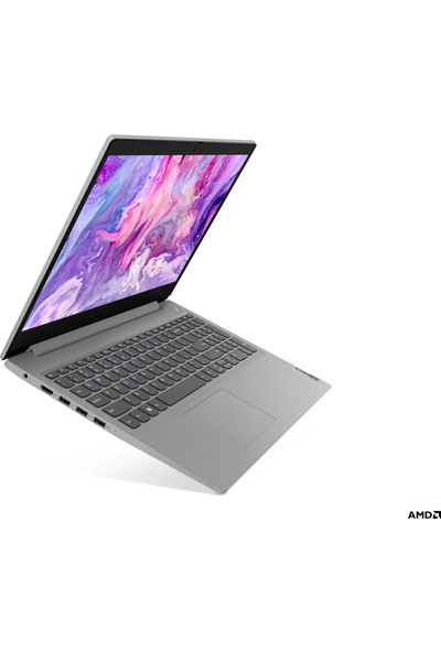 """Lenovo IdeaPad AMD Athlon 3050U 4GB 256GB SSD Freedos 15.6"""" Taşınabilir Bilgisayar 81W100CKTX"""