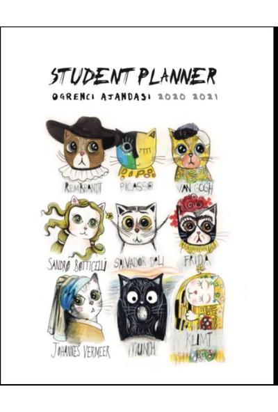 Öğrenci Ajandası 2020 - 2021 Painter Cats