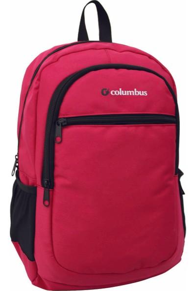 Columbus Eko Çok Amaçlı Sırt Çantası Kırmızı