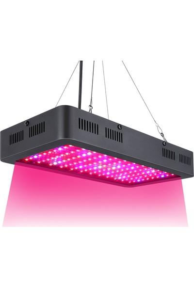 Insma 1200W Çiftli Cips LED Seralarda Yeraltı Bitkileri İçin Lamba Büyüyen Işık Tam Spektrum Grow (Yurt Dışından)