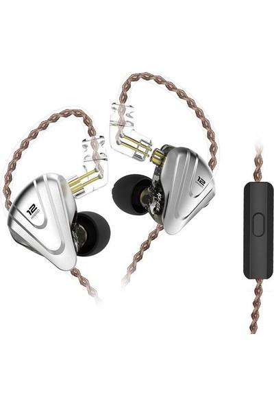Kz Zsx Terminator 5ba+1dd Hibrit Mikrofonlu Kulaklık