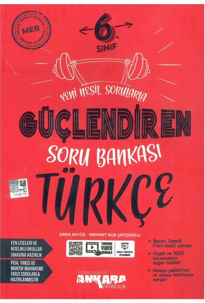 Ankara Yayıncılık 6. Sınıf Türkçe Güçlendiren Soru Bankası