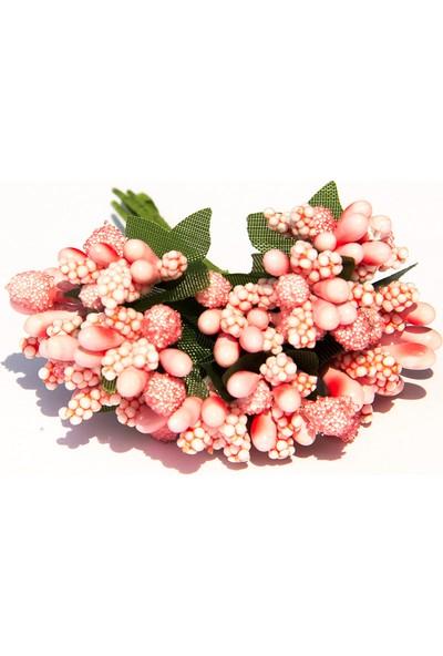Barok Bonbon Cipso Pıtırcık Çiçek 144 Adet