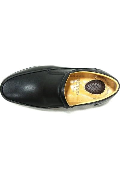 Retto 913 Siyah Bağcıksız Comfort Erkek Ayakkabı