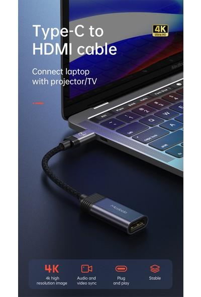 Mcdodo Type C To HDMI Çevirici Dönüştürücü Adaptör CA-7790