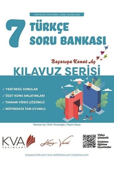 Koray Varol Akademi 7.sınıf Kılavuz Serisi Türkçe Soru Bankası