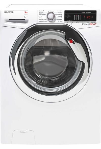 Hoover DXOA 39C3/1-17 9 kg NFC Bağlantılı 1300 Devir Çamaşır Makinesi