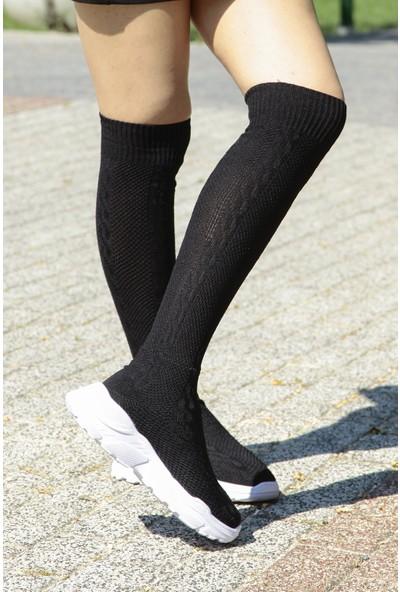 Crash Kadın Sneaker 92 Siyah