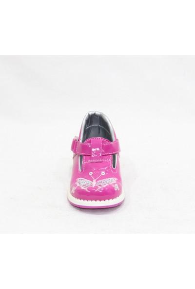 Özer Fuşya Pembe Bebe Ayakkabı