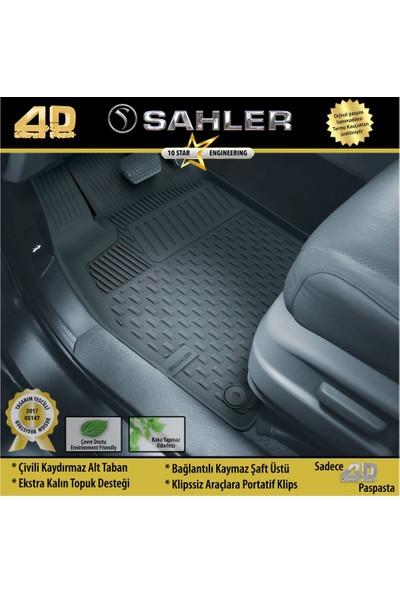 Sahler Ford Focus 4 2019-2020 Sedan / Hb 4.5d Havuzlu Paspas Siyah