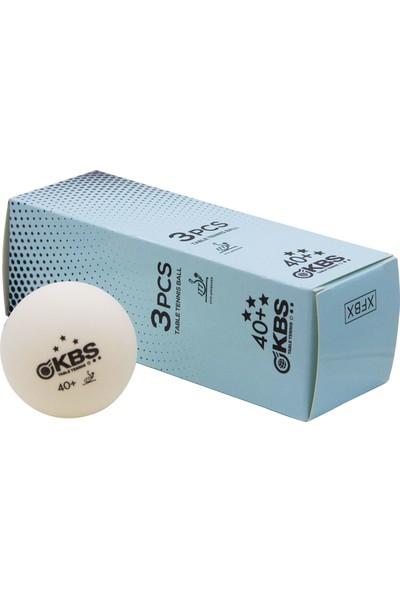 Kbs 3* Profesyonel Masa Tenisi Maç Topu