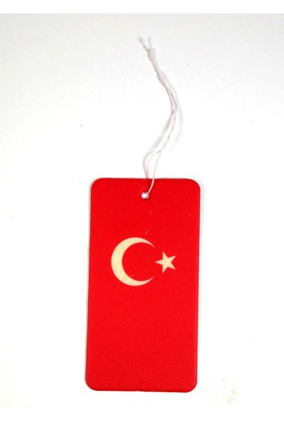 Caribi Türk Bayrağı Vanilya Araç Kokusu