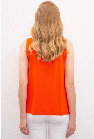 U.S. Polo Assn. Kadın T-Shirt 50218034-VR039