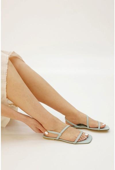 Marjin Kadın Kabel Düz Sandalet